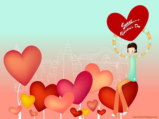 hình nền tình yêu trái tim đẹp