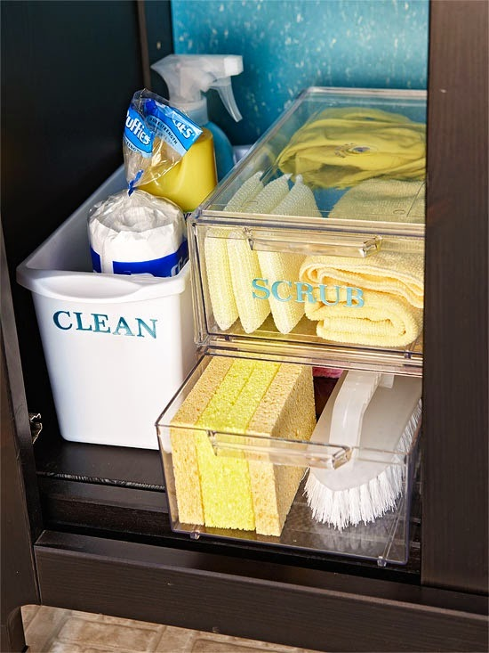 Under Kitchen Sink Storage Solutions