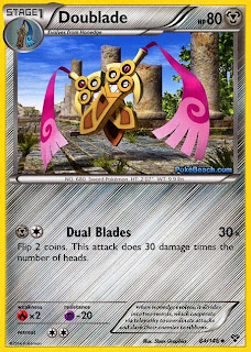 Doublade Pokemon X and Y Card