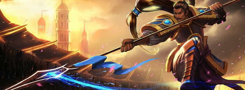 Xin Zhao League of Legends Facebook Cover PHotos