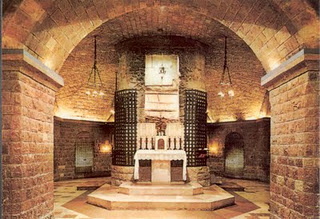 St. Francis Crypt Assisi:  Live Webcam
