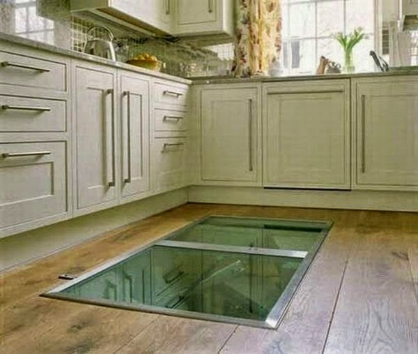 This Guy Put A Secret Window On His Kitchen Floor, For A Brilliant Reason!