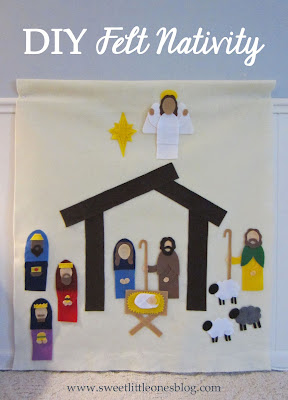 http://www.sweetlittleonesblog.com/2014/12/diy-felt-nativity-scene.html