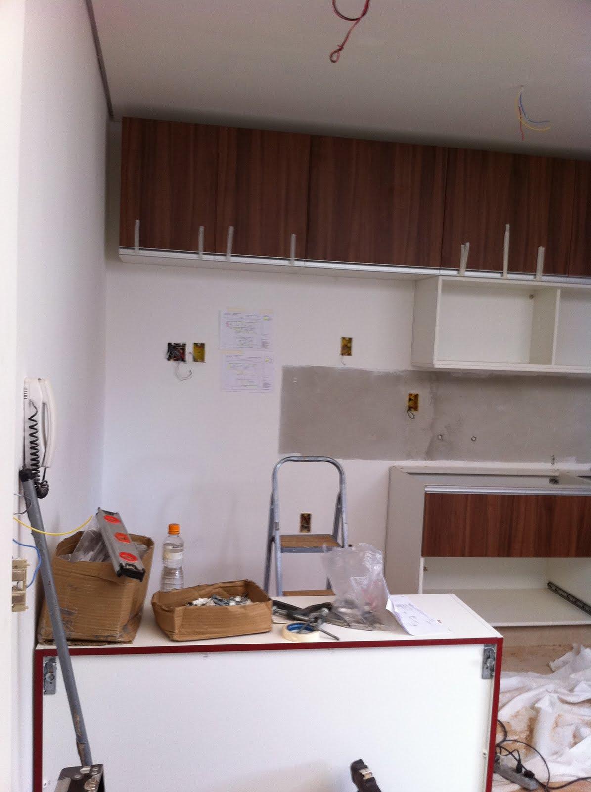 Carolina Lira Design de Interiores: Cozinha - Cambuci - SP