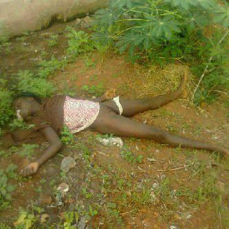 picture of a 12 years old girl that was seriously raped to death by