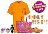 Flipkart Fashion Sale Offer : Minimum 55% OFF On Apparel, Footwear & Accessories