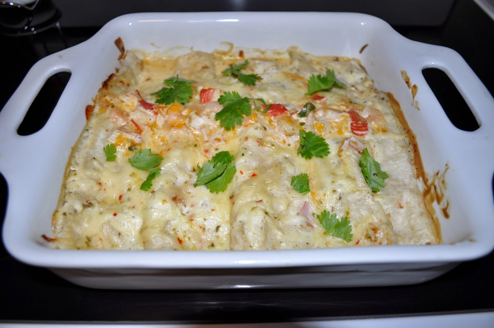 enchiladas, recipes, recipe, seafood enchiladas, lump crab, shrimp, diy, homemade, delicious, tasty, weeknight dish, yum