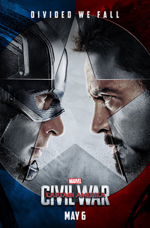 Captain America: Civil War: Official Poster