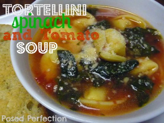 Garlicky Tortellini, Spinach & Tomato Soup Recipes — Dishmaps
