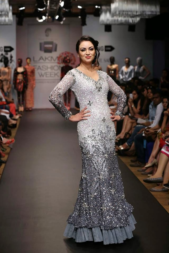 Maryam Zakaria at Lakme Fashion Week (LFW) Summer/Resort 2014