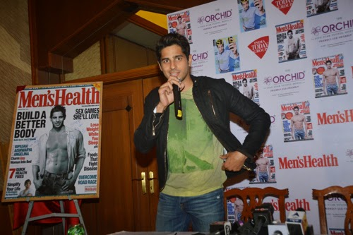Sidharth Malhotra Launch Men's Health Magazine Cover Photo Gallery
