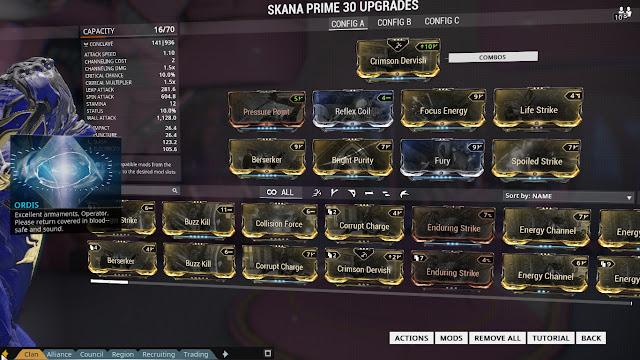 Warframe Update  Build