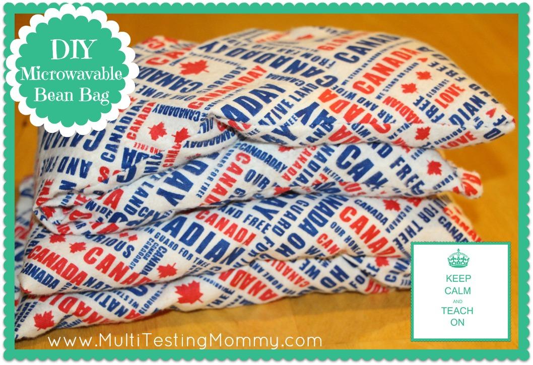 DIY Microwavable Bean Bag
