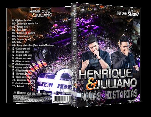 Download - Henrique & Juliano Em Recife– Novas Histórias (2016) DVDR Torrent