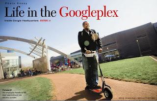 googleplex, sejarah singkat google search, google