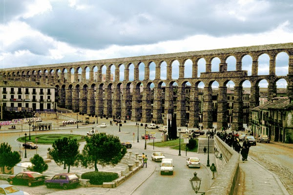 Akvædukten ved Segovia, Spanien