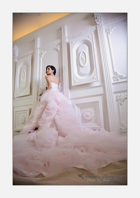 Model Desain Baju Pernikahan Terbaik 2014