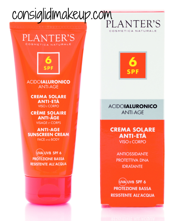 Preview: Novità Solari Anti Age - Planter's