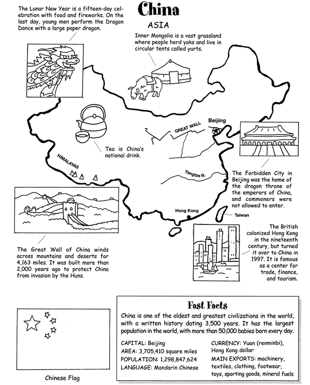 Worksheets For China : Inkspired musings china part ii arts and crafts