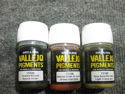 Pigmentos vallejo