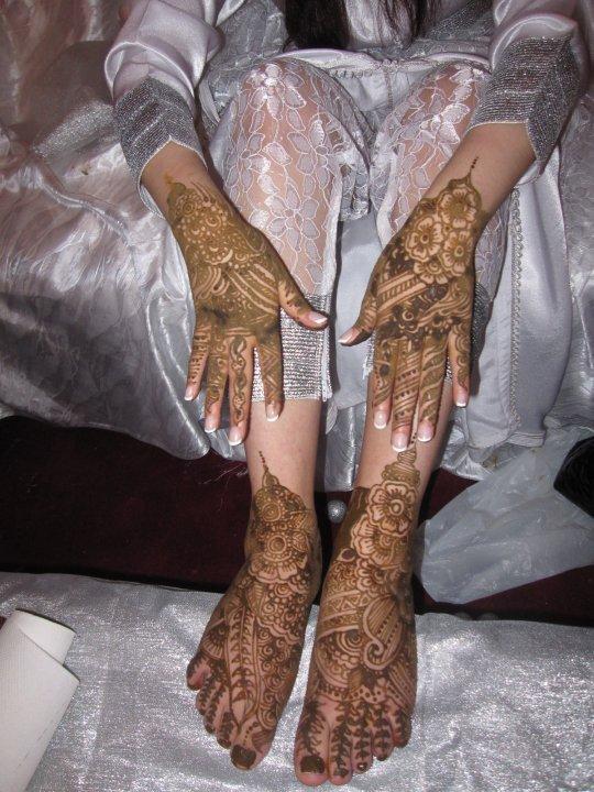 Bridal Mehndi Feet Images : Latest bridal mehndi feet desings
