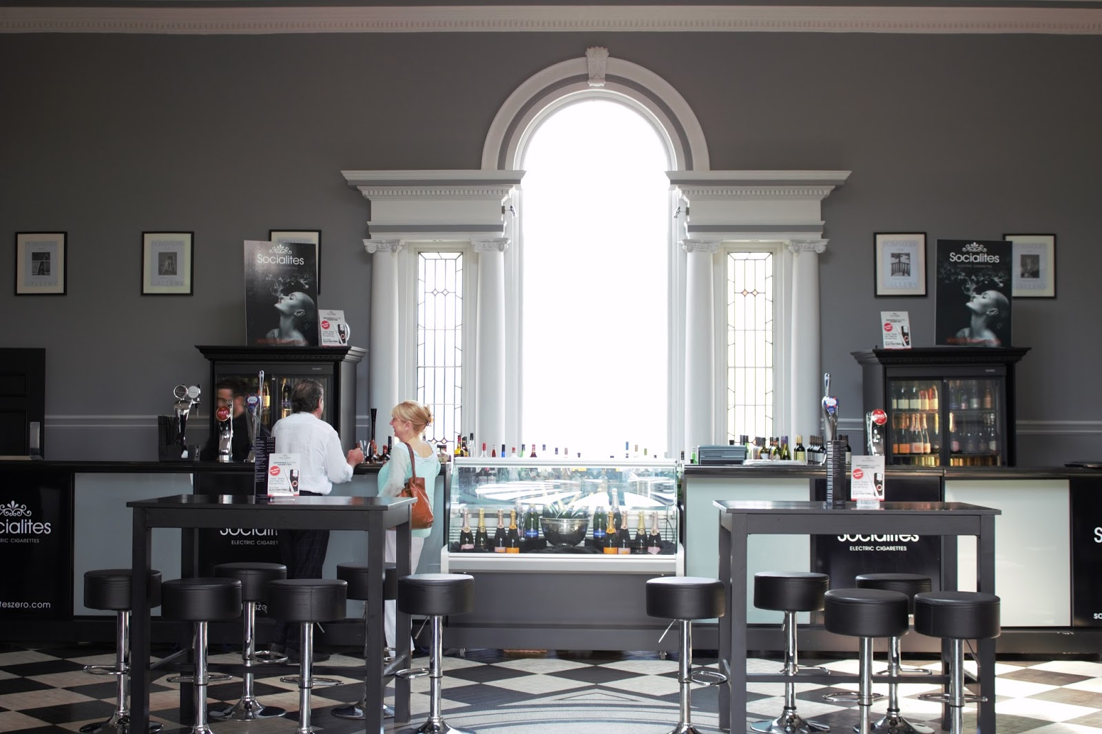 Bar at The Old Weighing Room, Doncaster