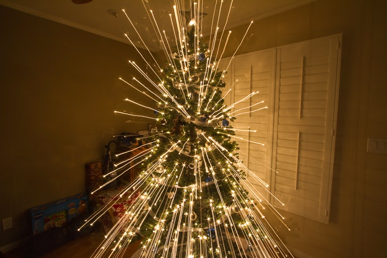 Tales of the Flowers: Christmas lights explosion!