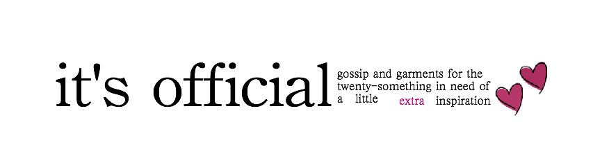 It&#39;s Official