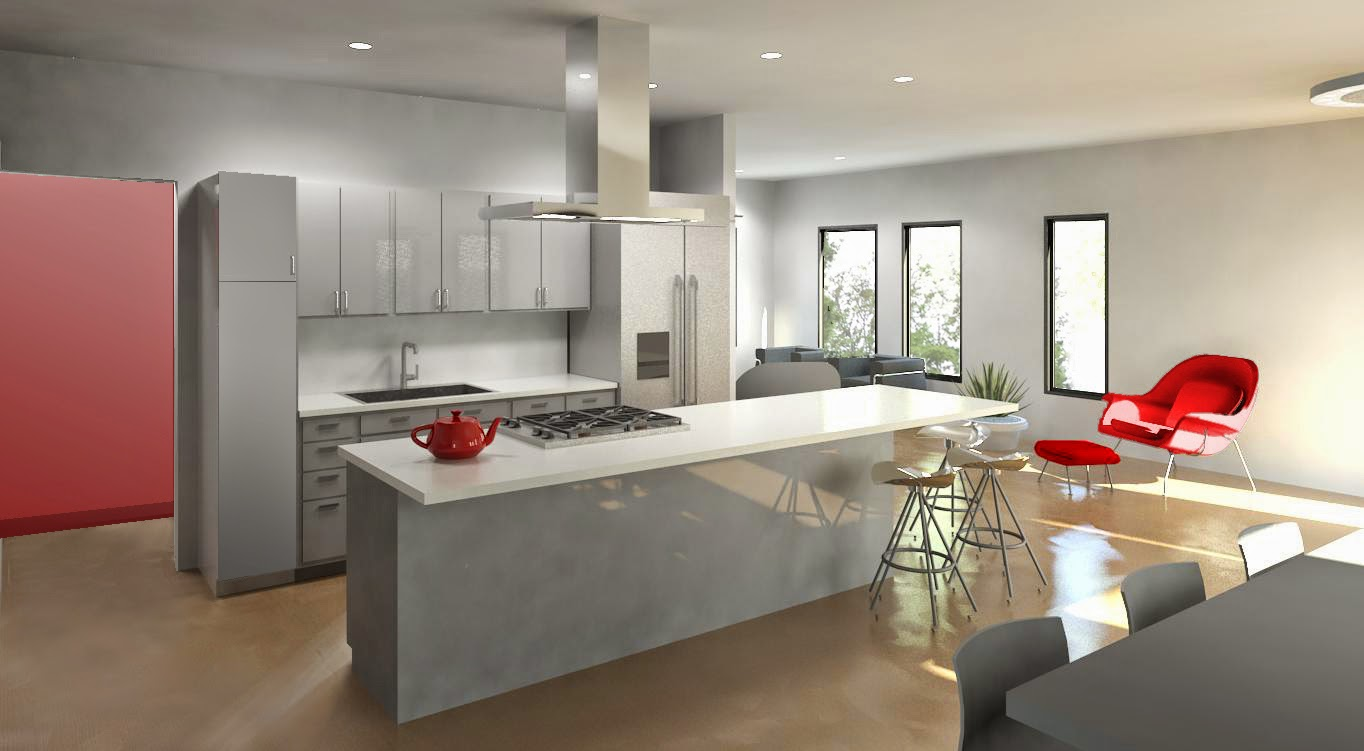 buy a cool modern house in Charlotte