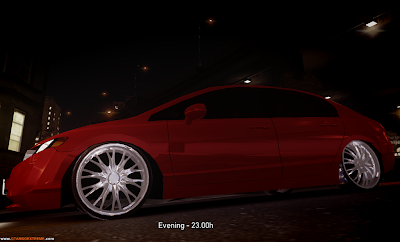 Honda New Civic Para GTA IV