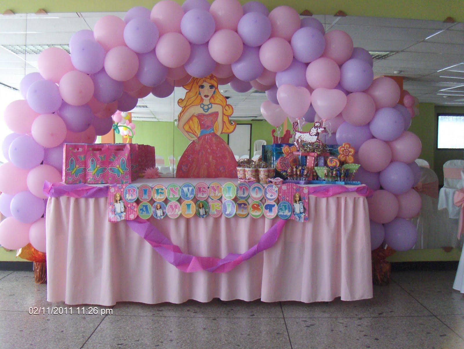 Decoracion de globos para fiestas infantiles paramount - Decoracion de globos ...