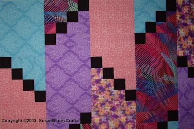Diagonal Puzzle fabrics