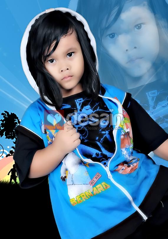 Editing Foto Anak-Anak