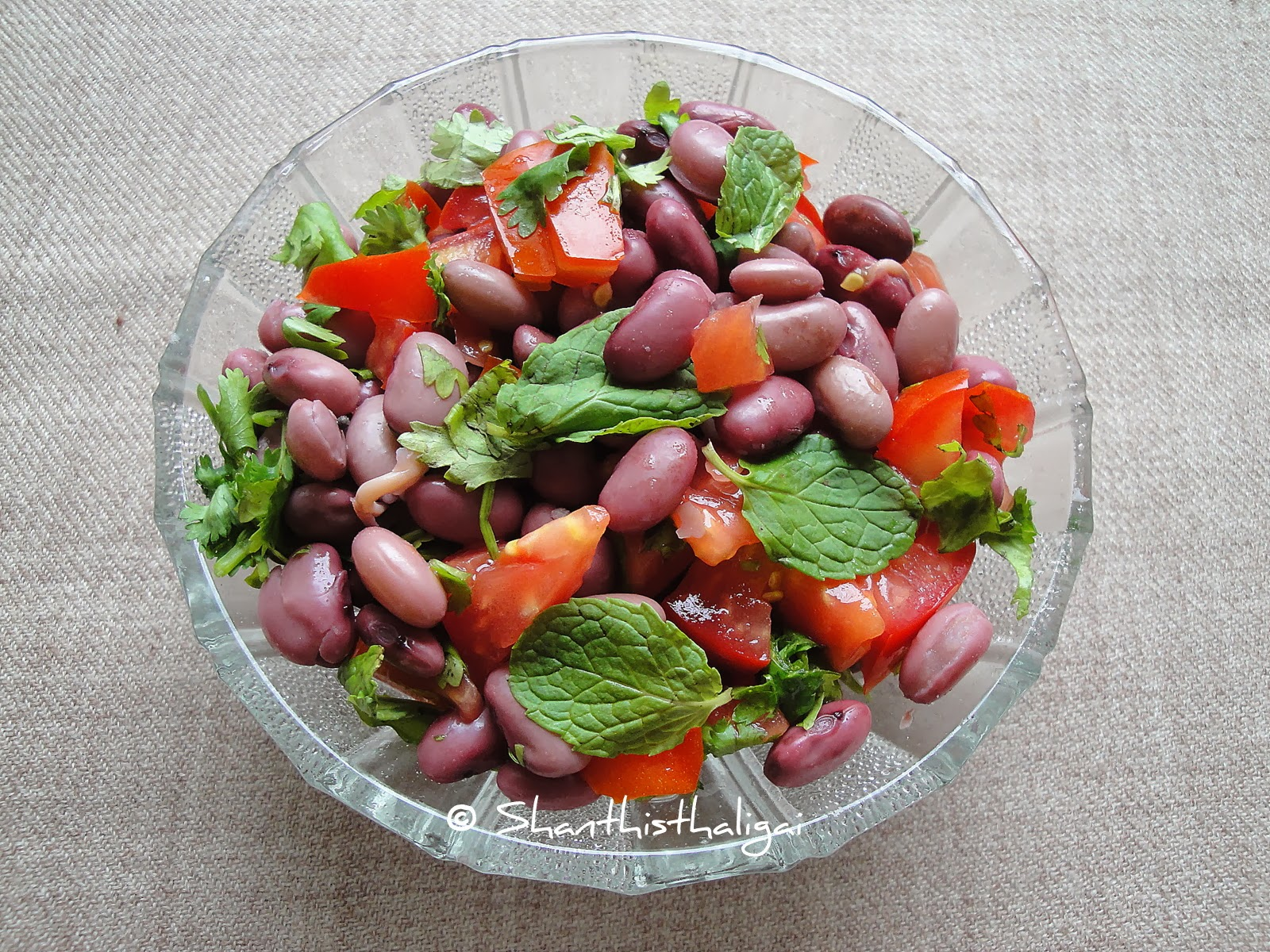 FRESH RED BEAN SALAD