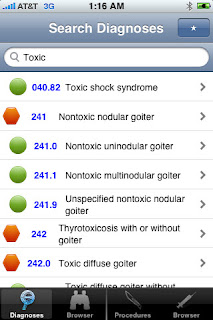 ICD9 Consult 2012 by Evan Schoenberg for the iPhone and iPad