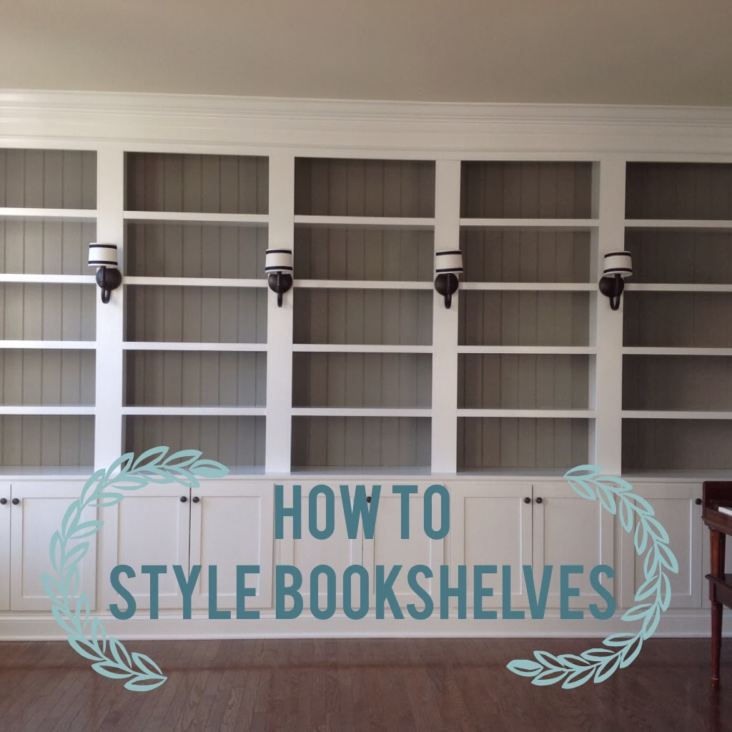 Built In Bookshelves: Right Up My Alley: Styling Our Bookshelves