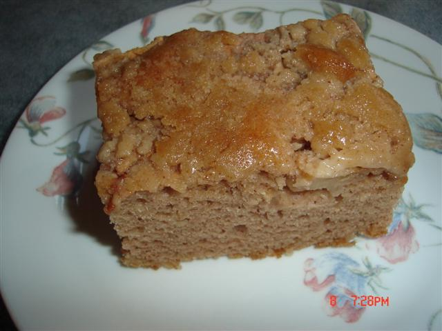 Sour Cream Apple Slice Without Cake Mix
