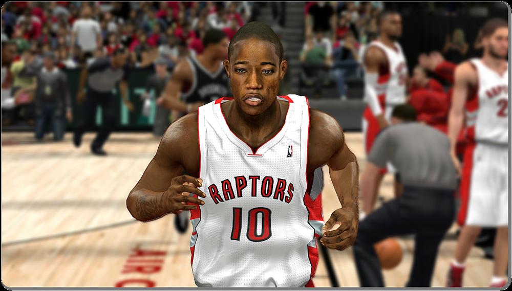 NBA 2K14 DeMar DeRozan Face Mod