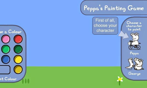 Peppa Pig Painting game games jigsaw puzzle fun free