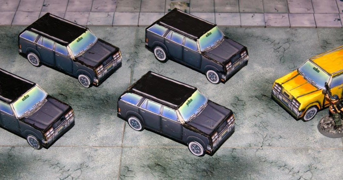 Vampifan's World of the Undead: Stoelzel's Structures SUVs