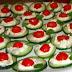 Receita de aperitivo Lowcarb para o Natal - Canapés de Pepino
