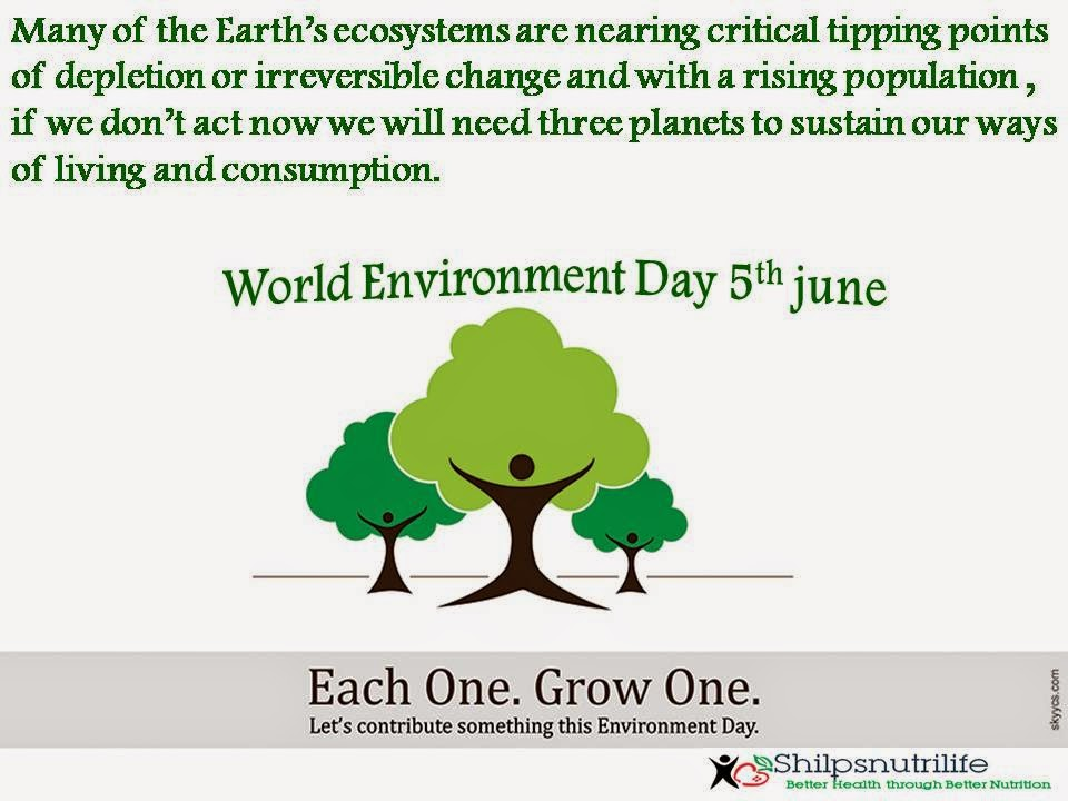 DIET WHAT IT REALLY MEANS!!!!!!!!: world environment day
