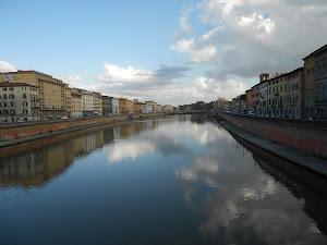 Pisa, lungarno