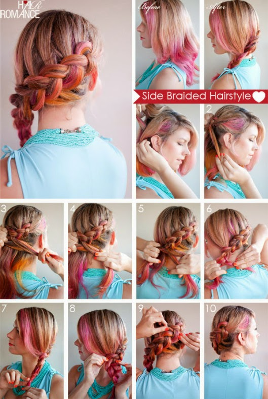 Famoso Look Like A Model: Tutorial hairstyle: come fare acconciature con  CK68