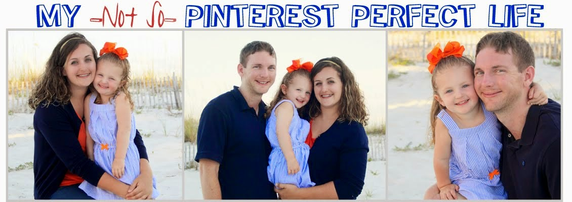 My Not So Pinterest Perfect Life