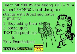 AFT, NEA leaders collaborate w/ Gates & co.