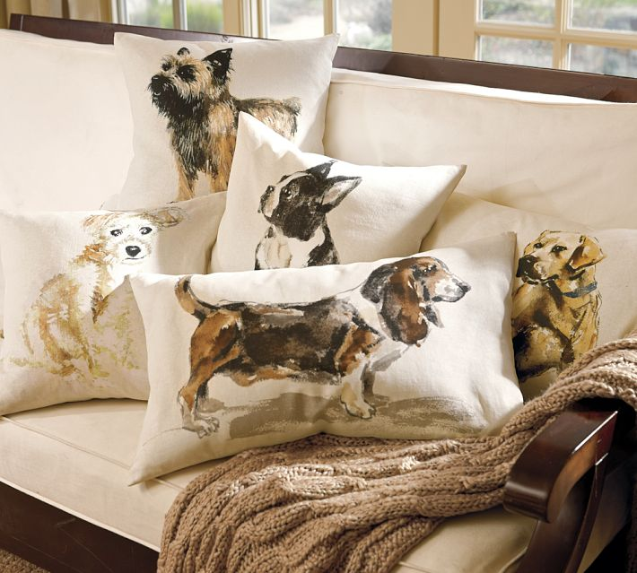 Pillows of a Girl s Best Friend! Driven by Decor