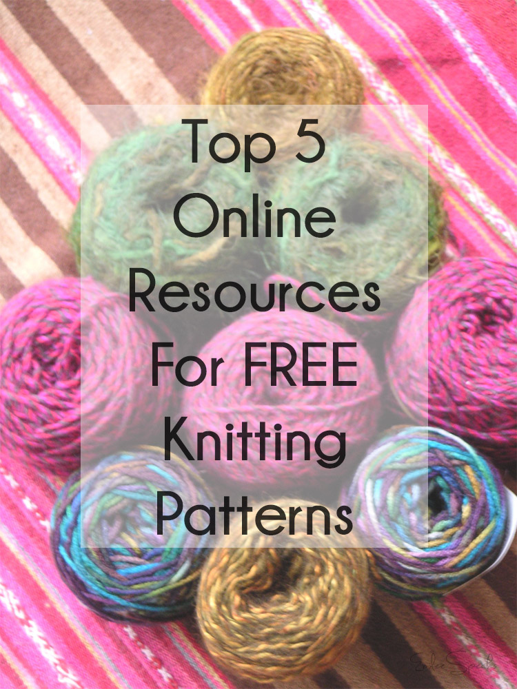 Emilee Speaks: Top 5 Online Resources for FREE Knitting Patterns