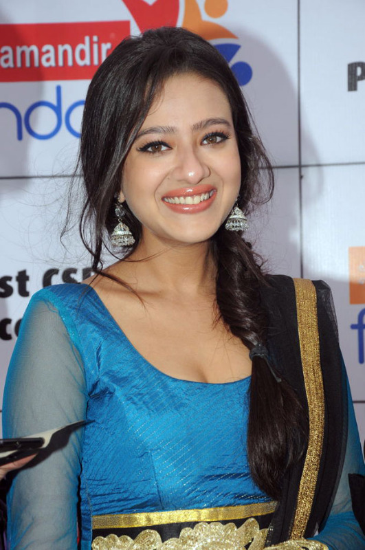 hot south indian actress Madalsa sharma  - (10) - Madalsa sharma in Blue Suit - Hot Pics