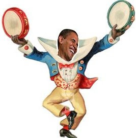 When Barack Obama: The Minstrel Man leaves White House .... Praise God almighty free at last!